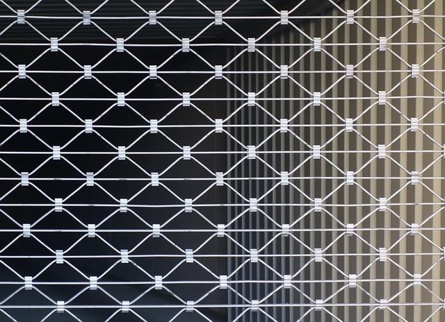 panne de rideaux métalliques